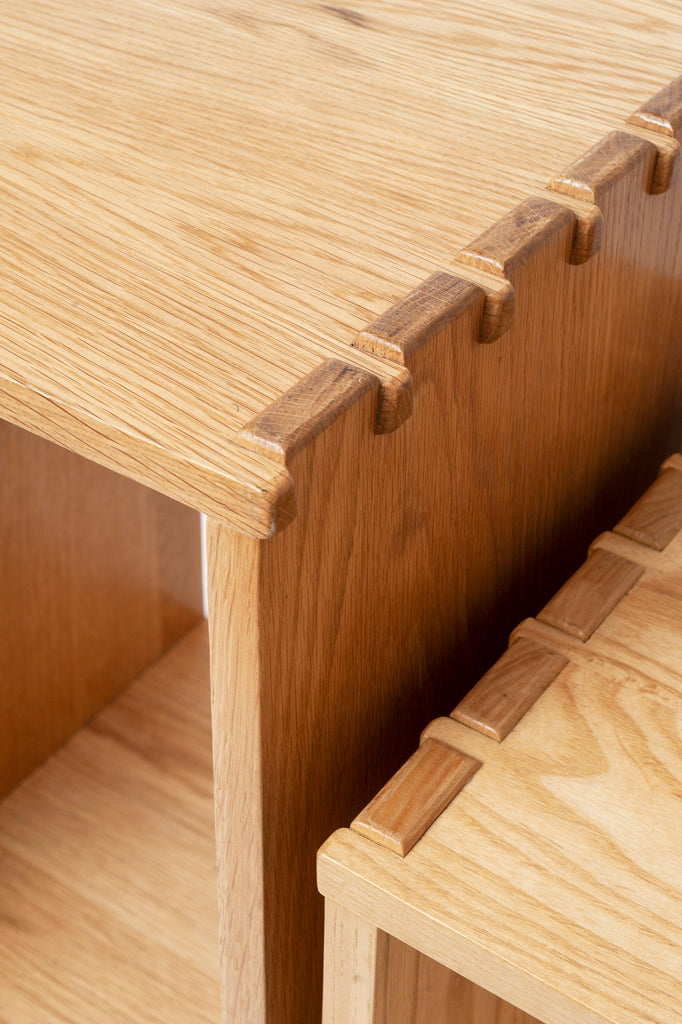 Nest of Solid Wood Tables