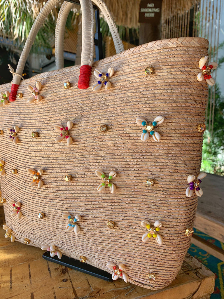 SEASHELLS & CRYSTALS BAG - P de Palma