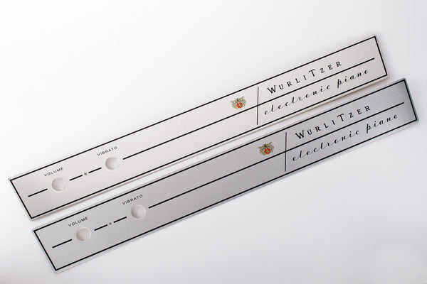 Wurlitzer 200 Series Name Plates