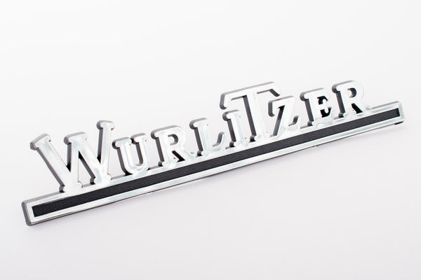 Wurlitzer Rear Chrome Logo
