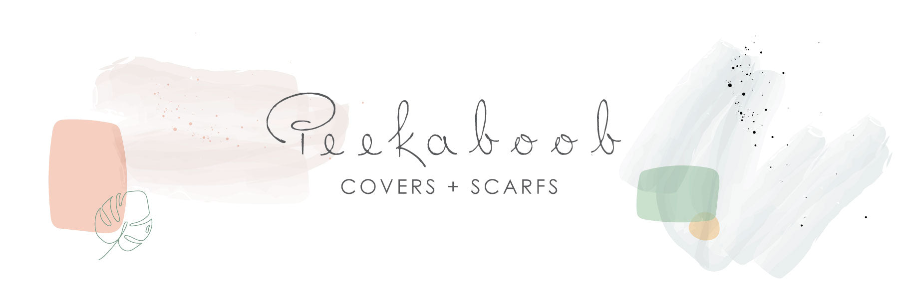 peakaboob covers + scarfs