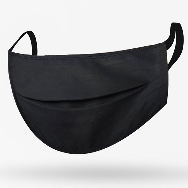 Adult Mask Black Solid