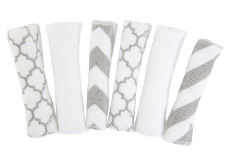 6-Pack Washcloths | Neutral Prints