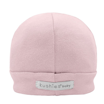 Cap Cotton Interlock Pink