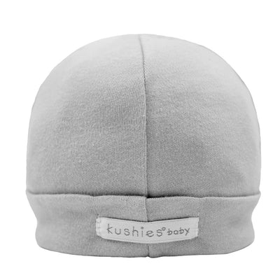 Cap Cotton Interlock Grey