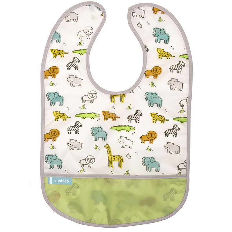 Cleanbib | White Little Safari