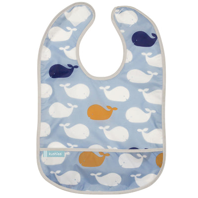 Cleanbib 3-pack | Whales