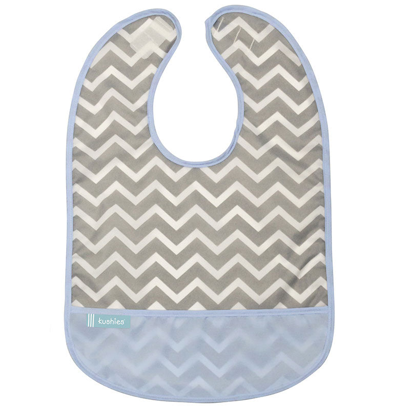 Cleanbib | Blue Chevron