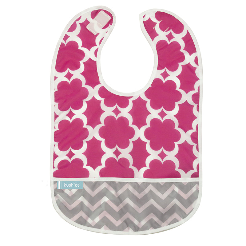 Cleanbib 3-pack | Flowers