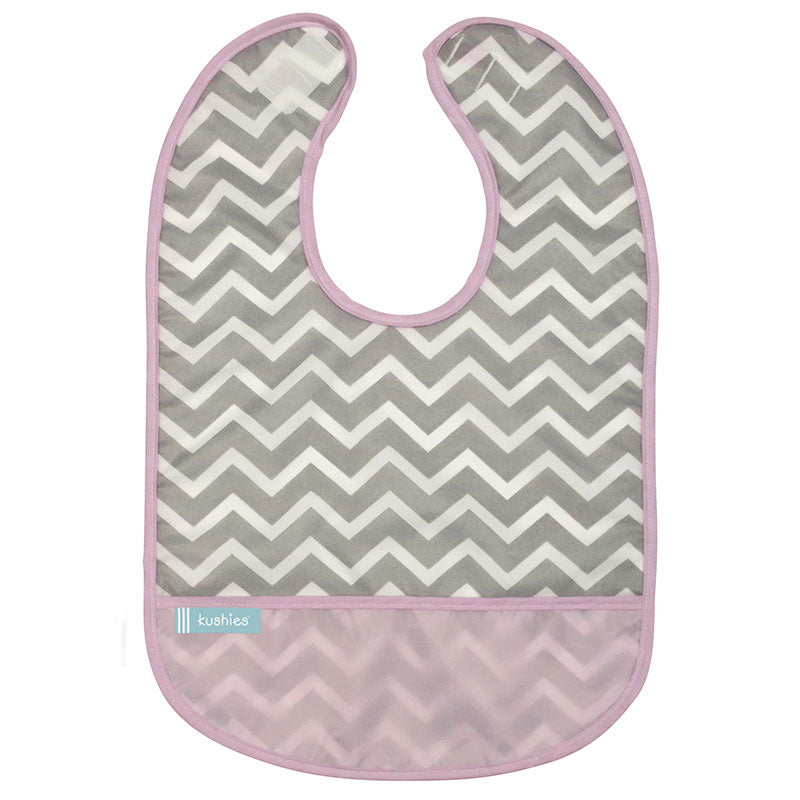 Cleanbib | Pink Chevron
