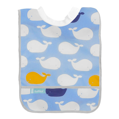 Rib Neck Bib | Blue Whales