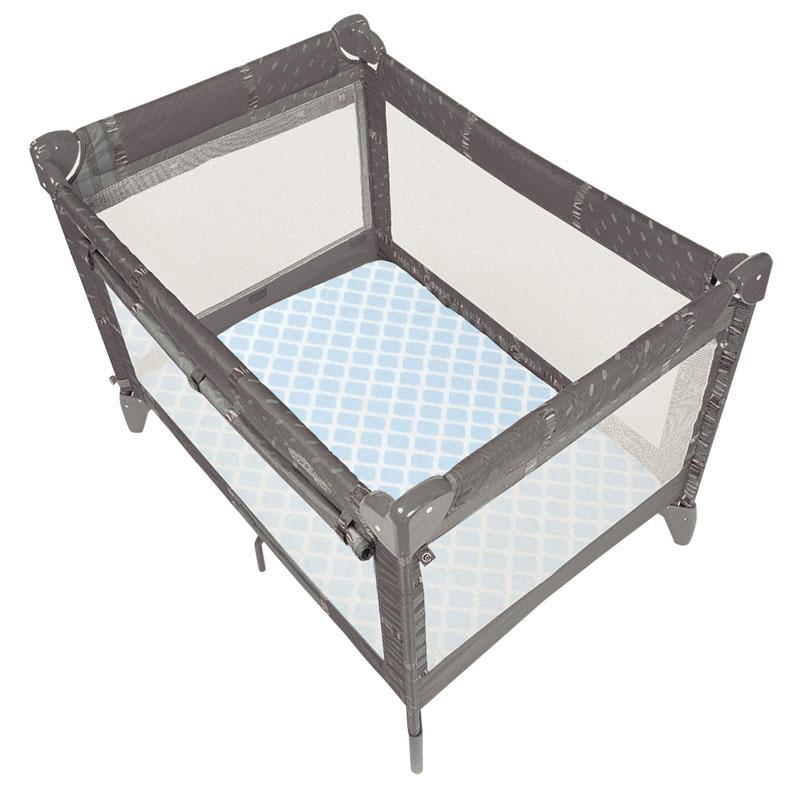 Ben & Noa | Flannel Playard Sheet
