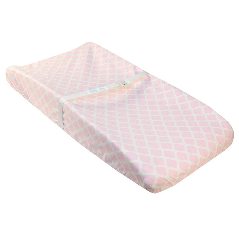 Ben & Noa | Flannel Changing Pad Cover w-Slits for Safety Straps