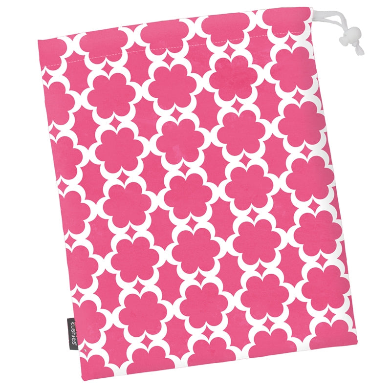 Waterproof Laundry Bag | Fuchsia Modern Flowers