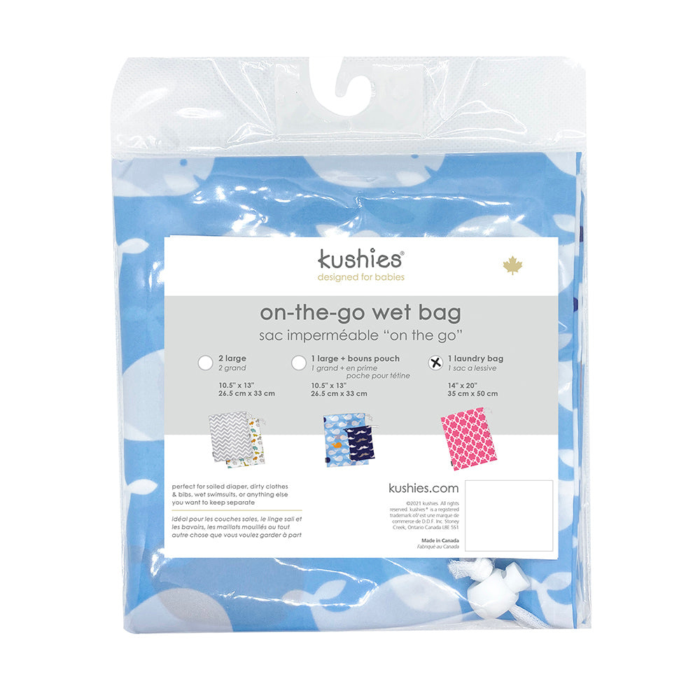 Waterproof Laundry Bag | Blue Whale
