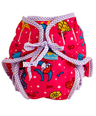 Reusable Swim Diaper | Pink Print