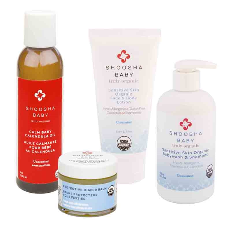 Shoosha Organic Baby Care Gift Set