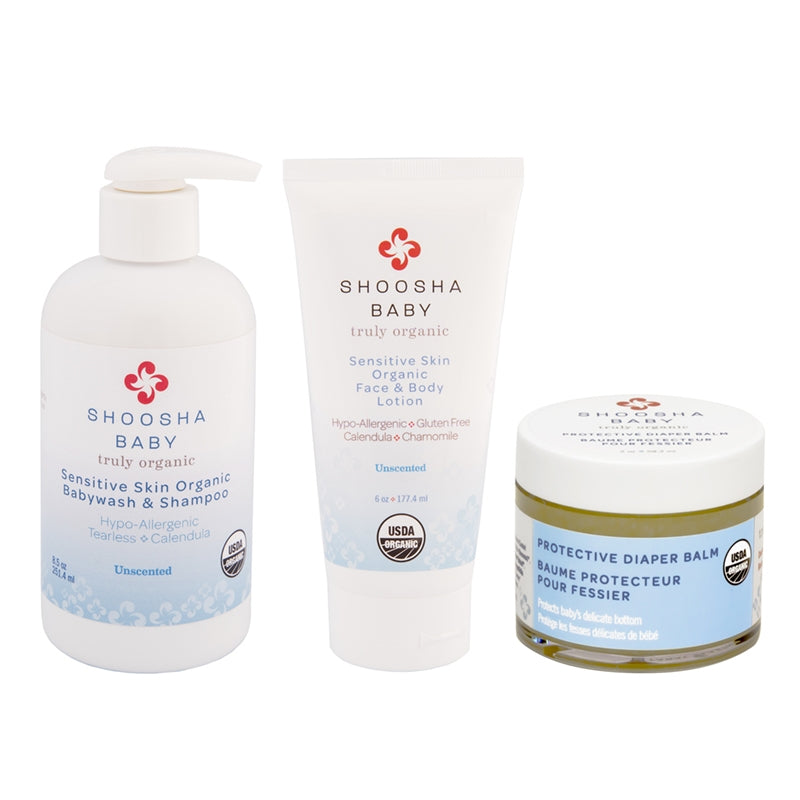 Organic Bath set for Baby