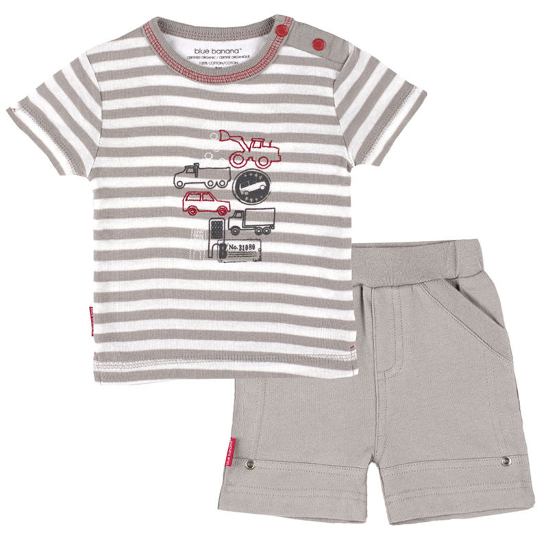 Dash | French Terry T-Shirt & Short Set
