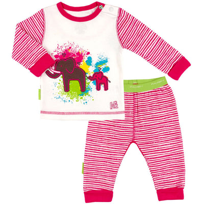 Savanna Splash 2-Piece Set Fuchsia