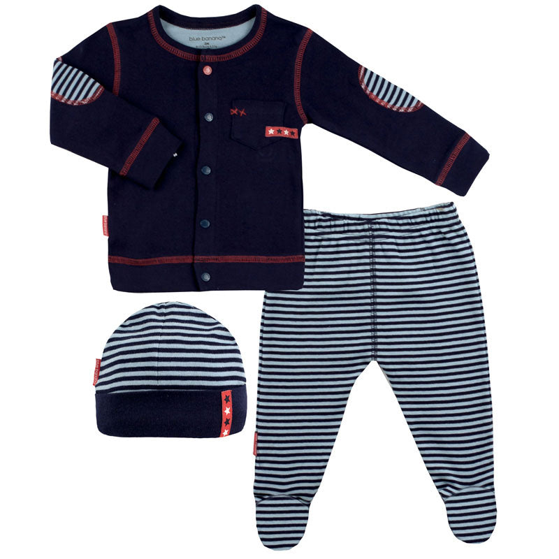 Rock A Bye Baby Take me Home Set Navy