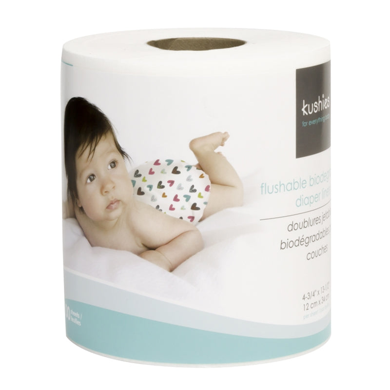 Flushable-Biodegradable Diaper Liners
