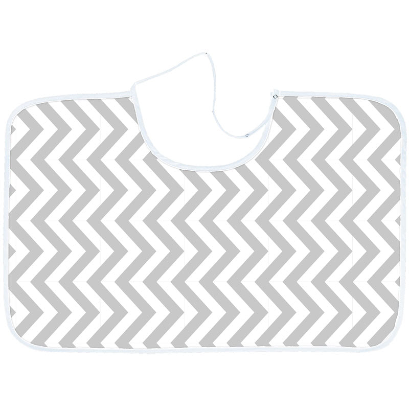Nursing Canopy Chevron Grey