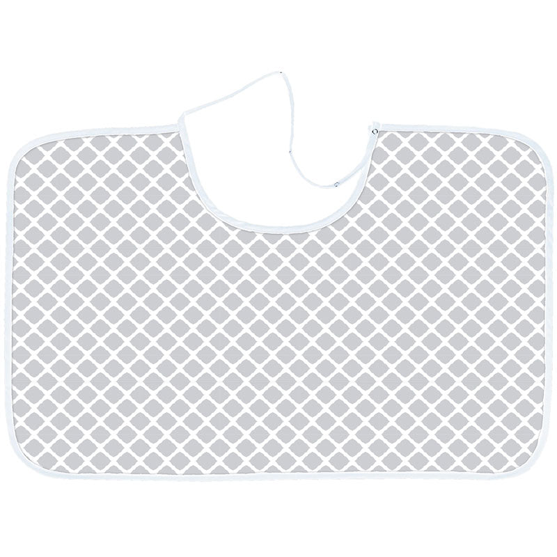 Nursing Canopy Lattice Grey