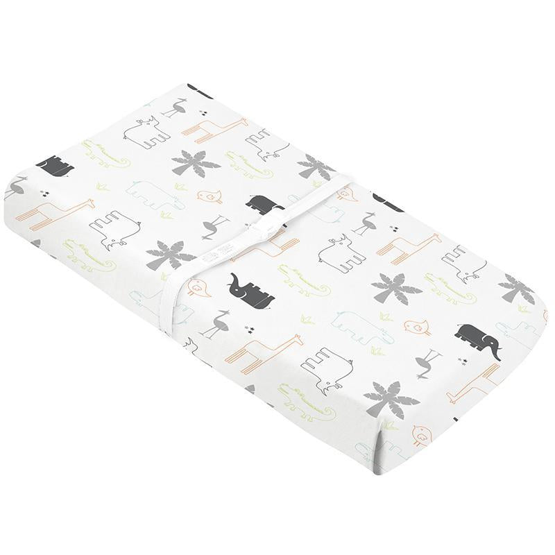 Percale Dream | Change Pad Cover with Slits for Safety Straps