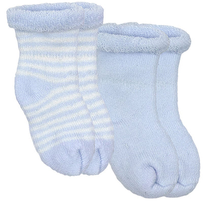Blue socks for newborns
