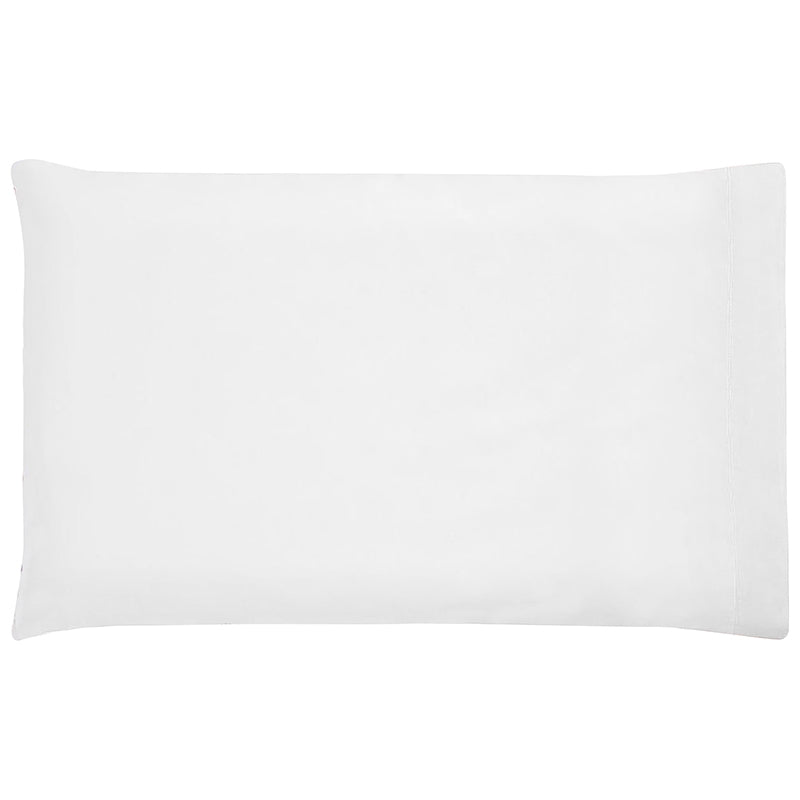Organic Jersey Toddler Pillow Case | White