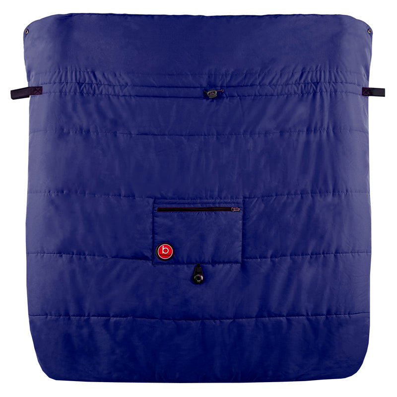 Blue Banana Double Stroller Blanket | Navy