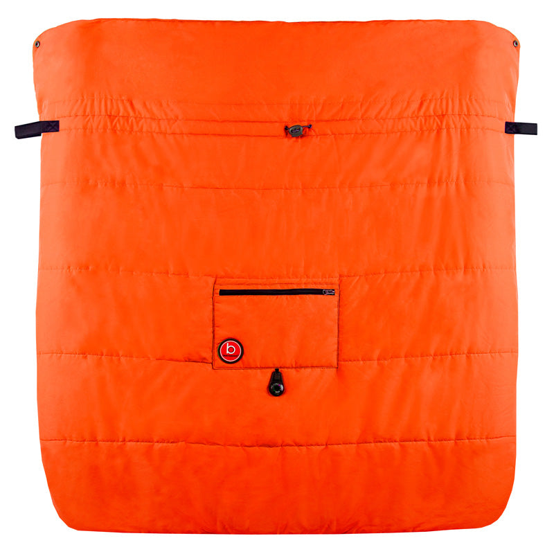Blue Banana Double Stroller Blanket | Orange