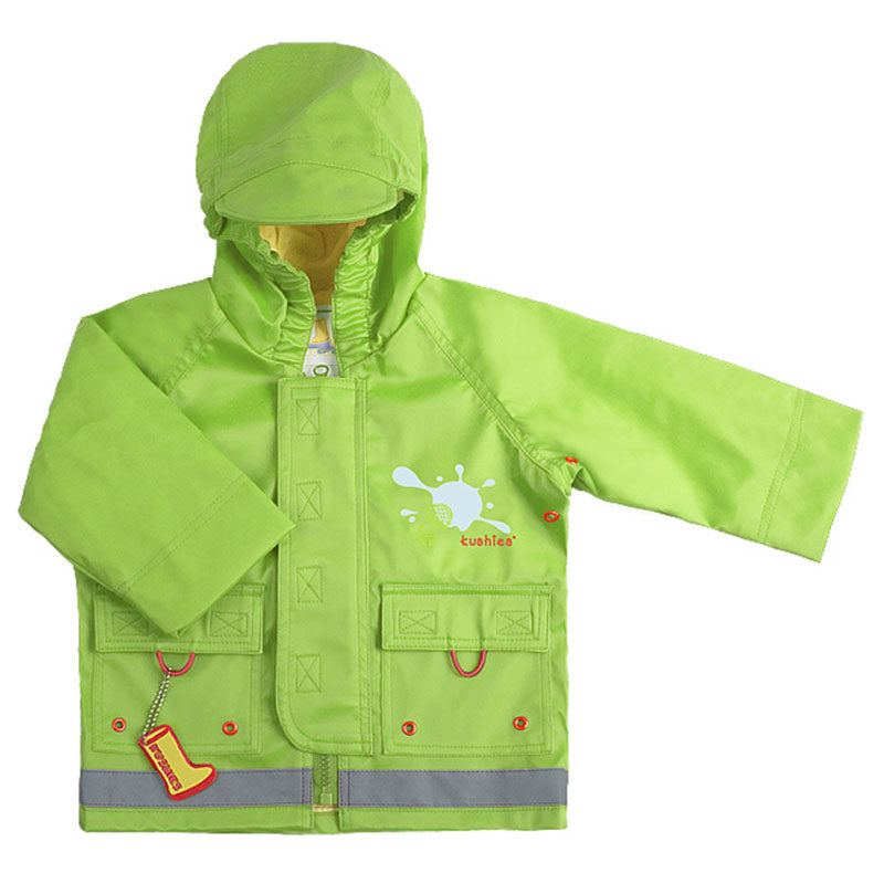 Splish Splash Rain Jacket Green