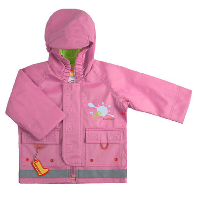 Splish Splash Rain Jacket Pink