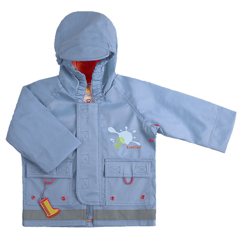 Splish Splash Rain Jacket Blue