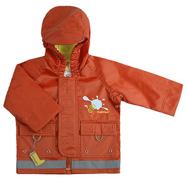 Splish Splash Rain Jacket Orange