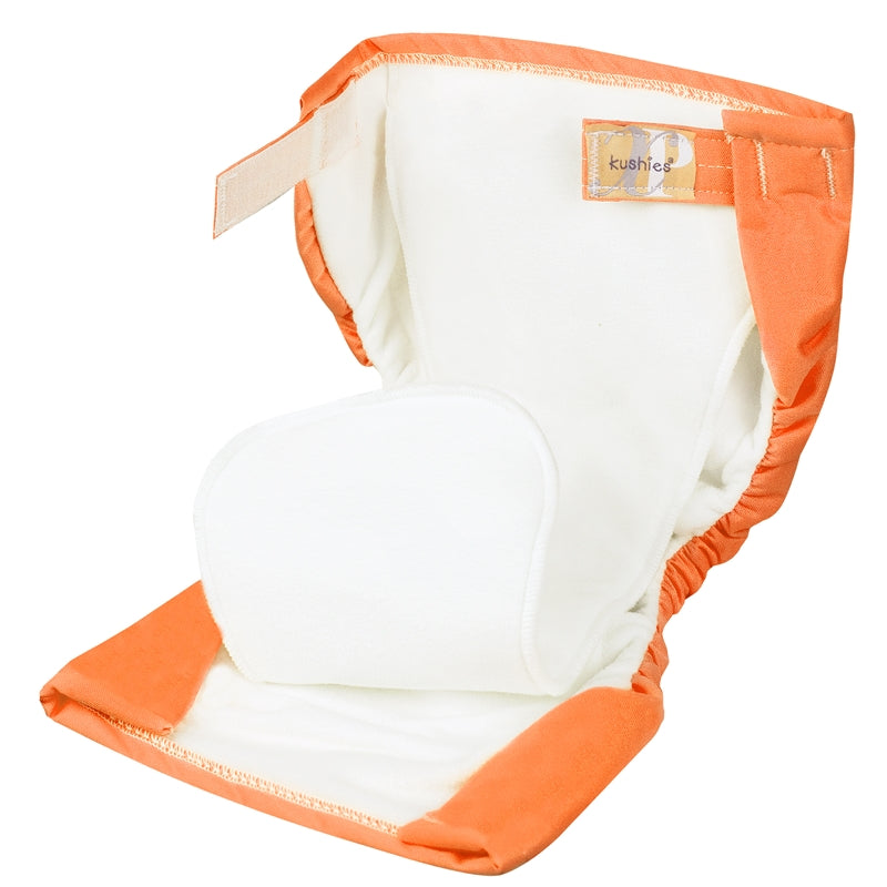 XP All-In-One Diaper - Eat Your Carrots Orange