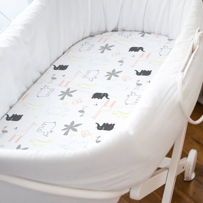Percale Bassinet Sheet