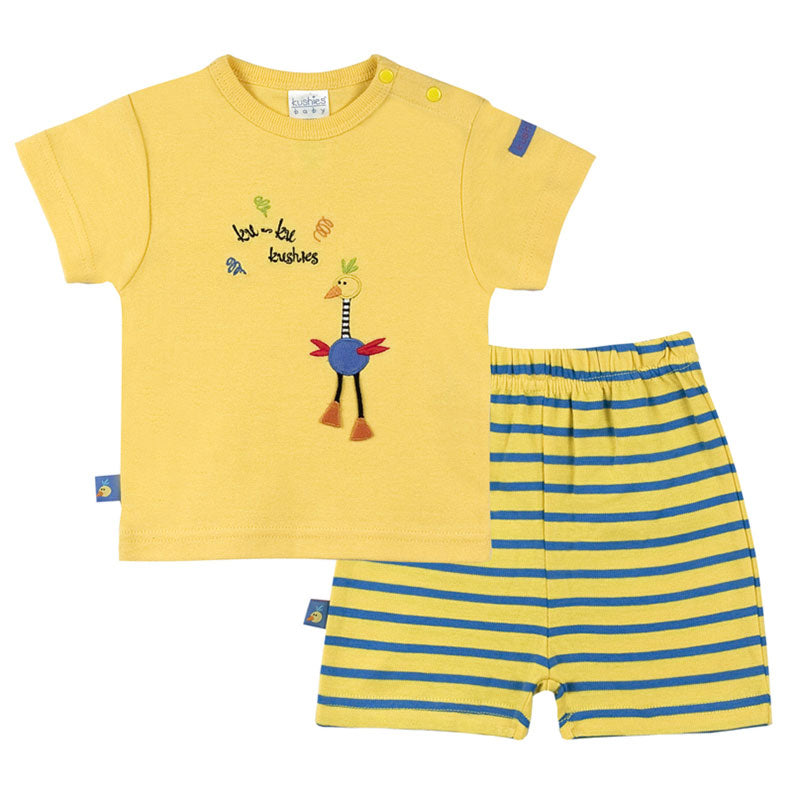Ku Ku Bird | SS T-Shirt & Short Set