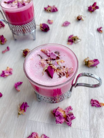 Image of Rose Cacao Beetroot Latte