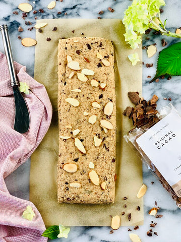Cacao Tea Biscotti Baked