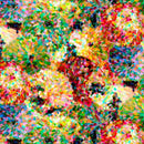 "108"" Digitally Printed Impressionist Floral Quilt Backing Fabric - 3 Yards - ineedfabric.com"