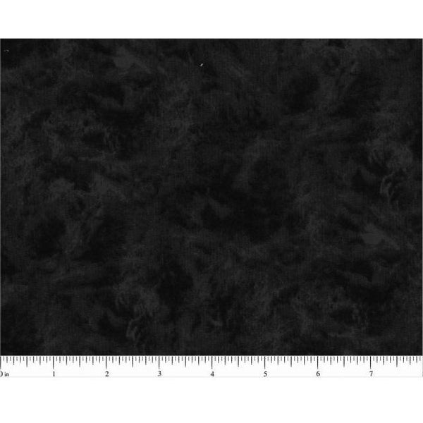 "108"" Illusions Quilt Backing Fabric - Black - ineedfabric.com"