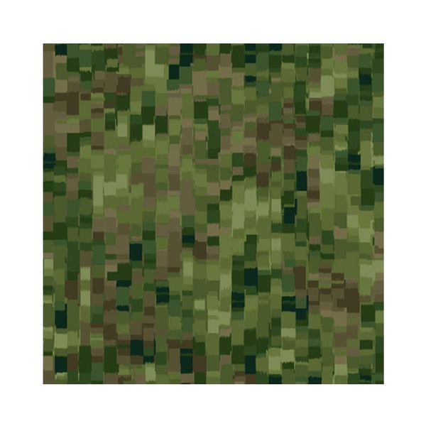 "108"" Ombre Squares Quilt Backing - Olive"