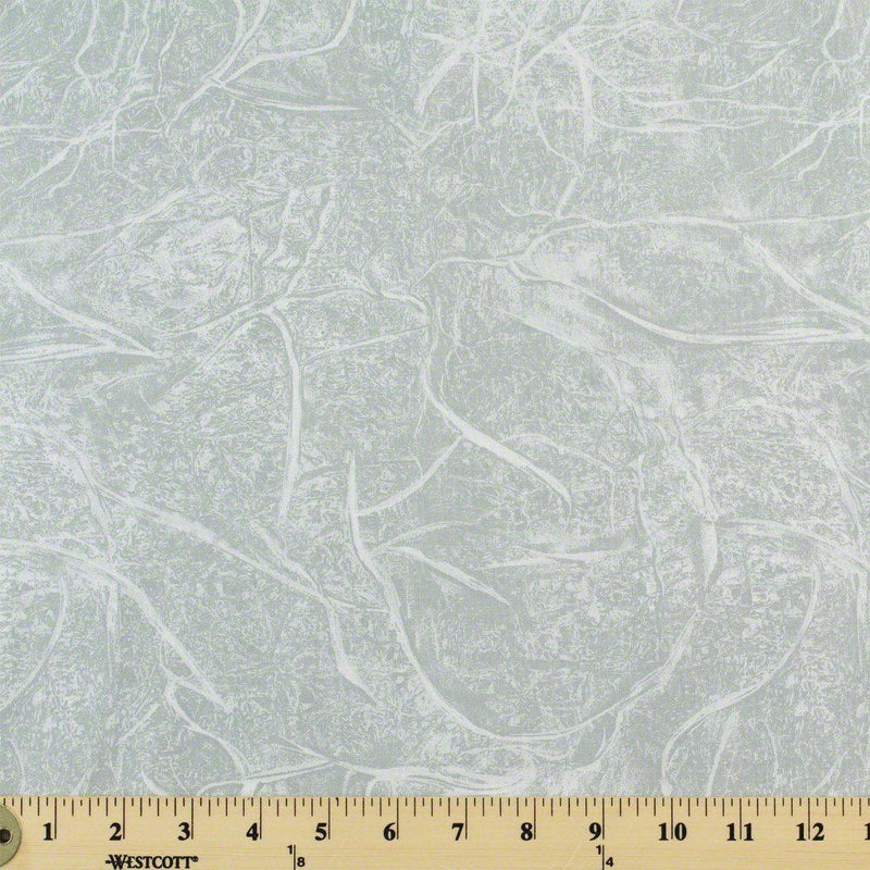 "108"" Quilt Backing, Branches Fabric - Grey"
