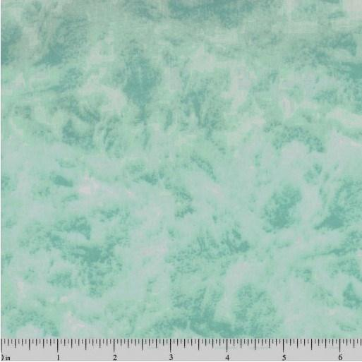"108"" Quilt Backing, Illusions - Mint Green - ineedfabric.com"