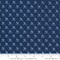 Moda, Weathervane Fabric - Navy