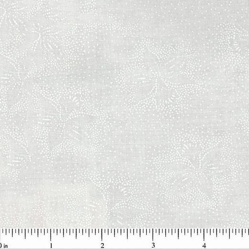 "45"" Tone on Tone Fabric, Floral and Dots - ineedfabric.com"