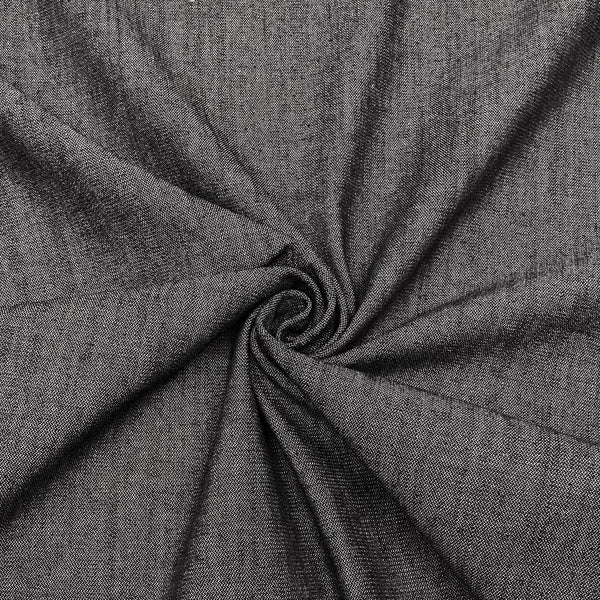 "58"" Grey Denim Fabric, 18oz - ineedfabric.com"